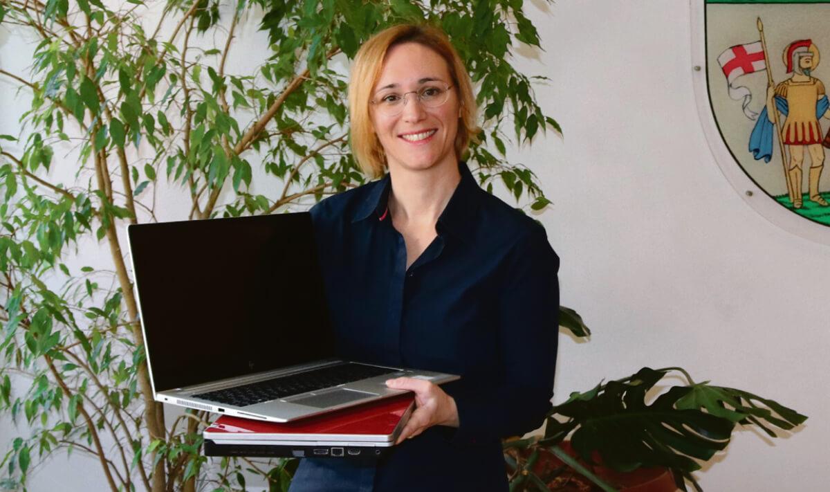 Bezirksvorsteherin Lea Halbwidl
