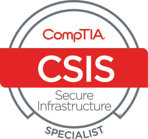 CompTIA Cybersecurity Secure Infrastructure Specialist