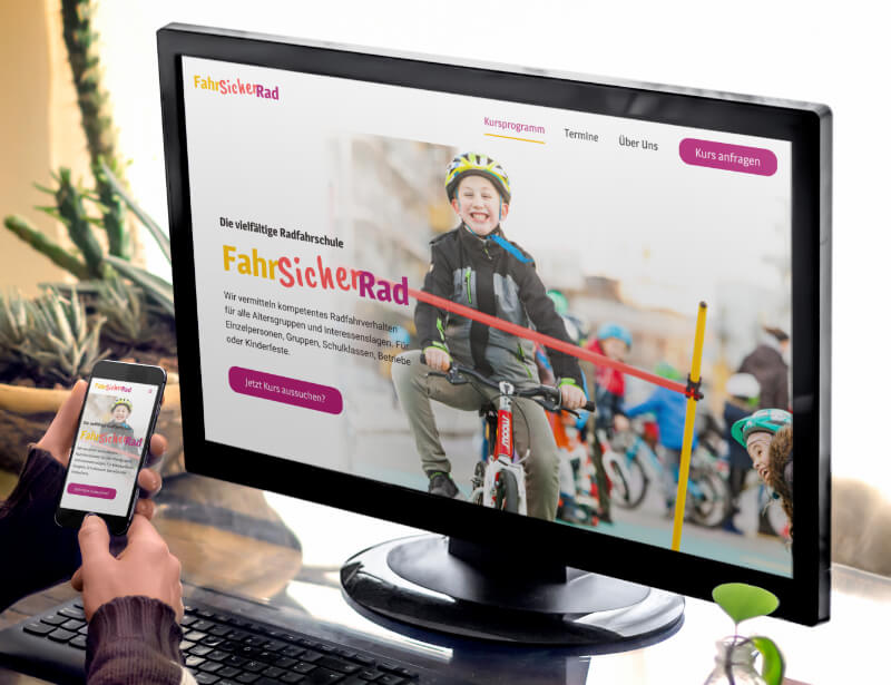 Website FahrSicherRad